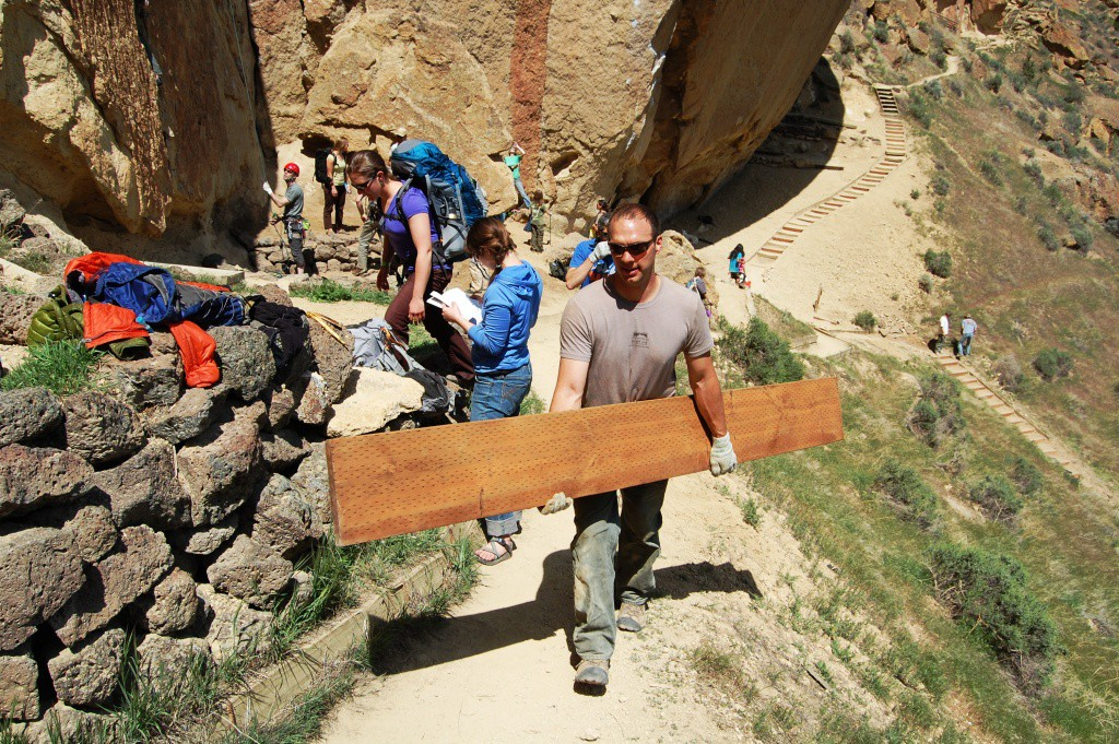 "Interested in ""voluntourism?"" You'll find plenty of opportunities, including the annual Smith Rock Spring Thing."