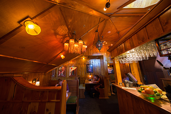 The new Broom Closet Bar at McMenamins has a cozy, romantic vibe. Photo by Kathleen Nyberg