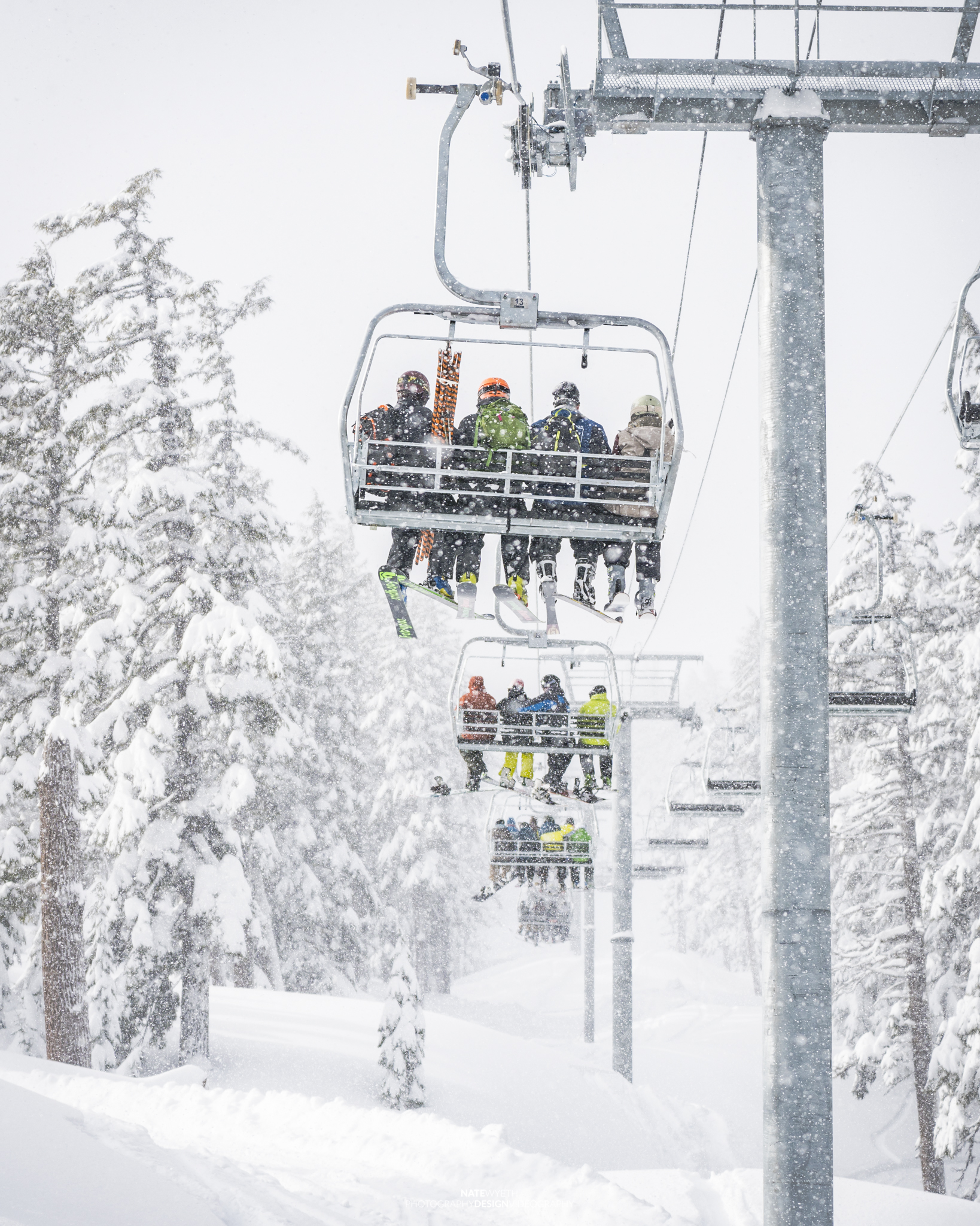 Cloudchaser Lift at Mt Bachelor