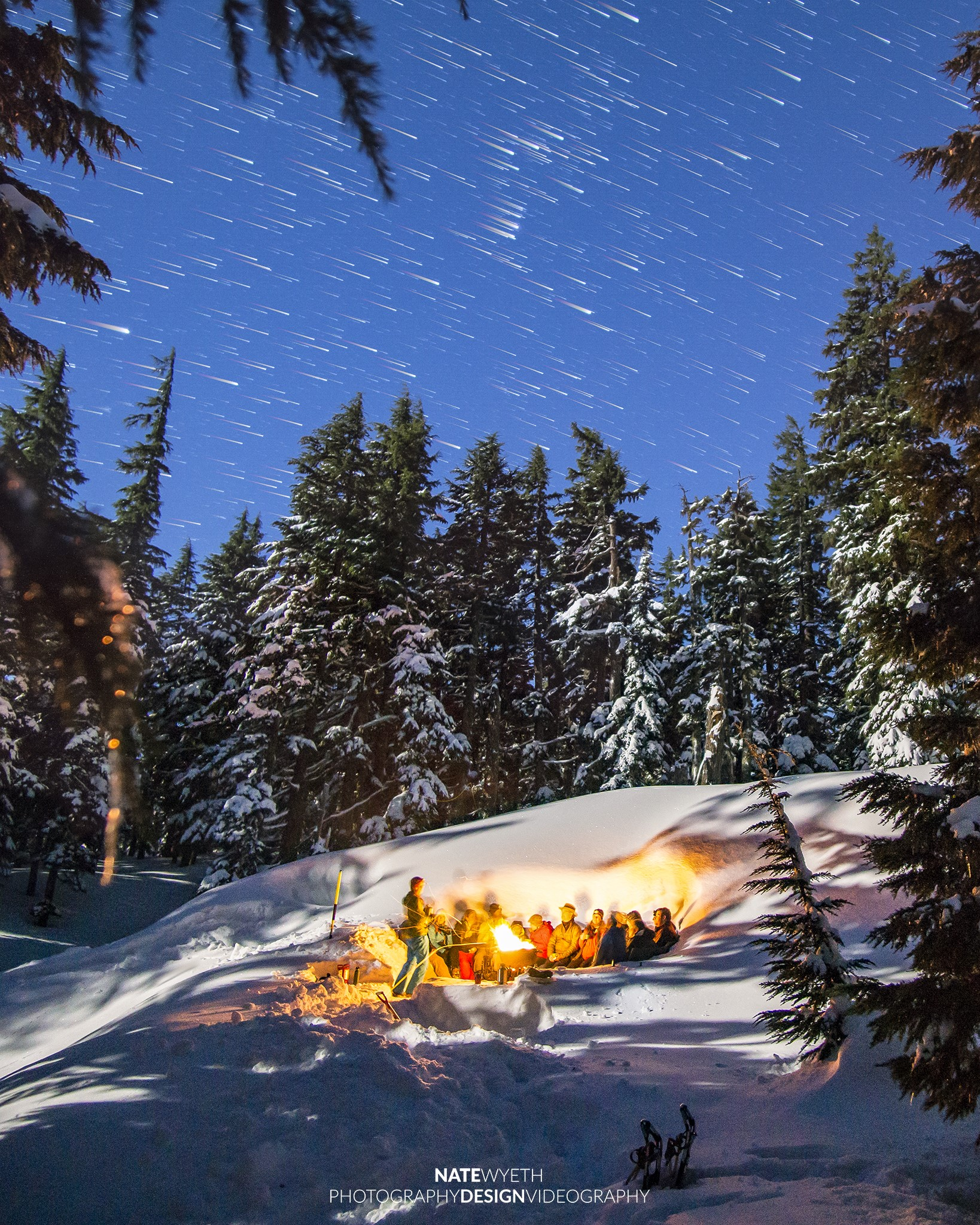 Snowshoe adventure with Wanderlust Tours in Bend, OR