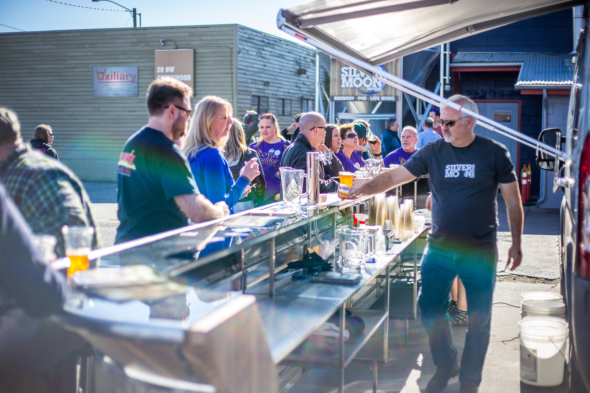 Enjoy craft beer in Bend, Oregon.