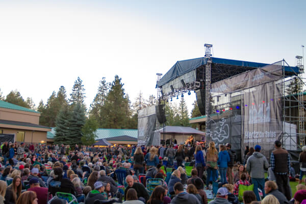 Clear Summer Nights concert at the Athletic Club of Bend