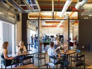 Cafe in Bend, Oregon