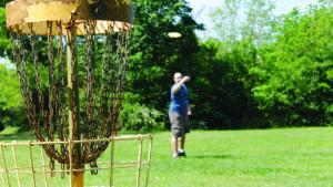 Oregon Senior Games – Disc Golf