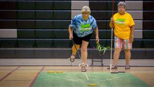 Oregon Senior Games – Shuffleboard