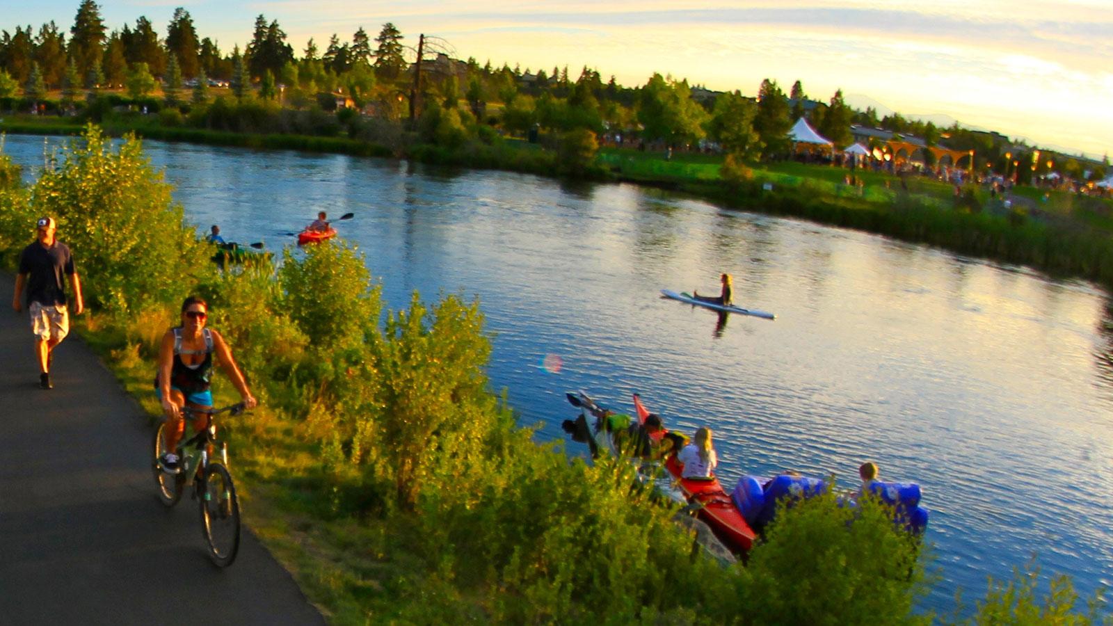 kayaking the deschutes river