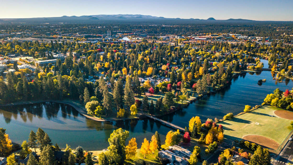 Central Oregon Area Maps Bend