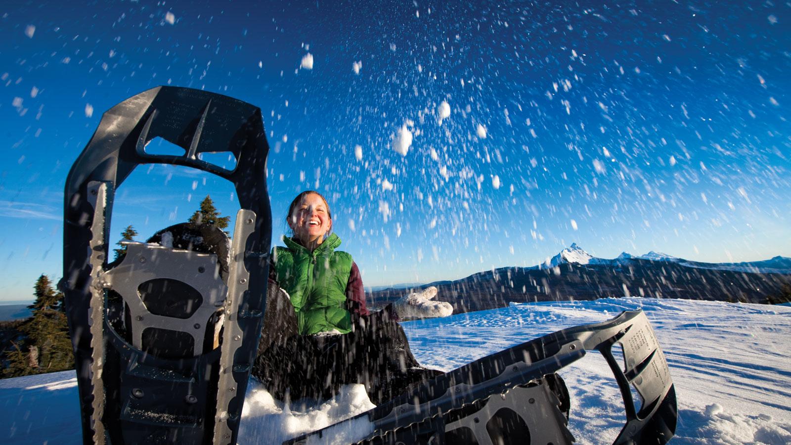Dog Friendly Snowshoeing Bend Oregon