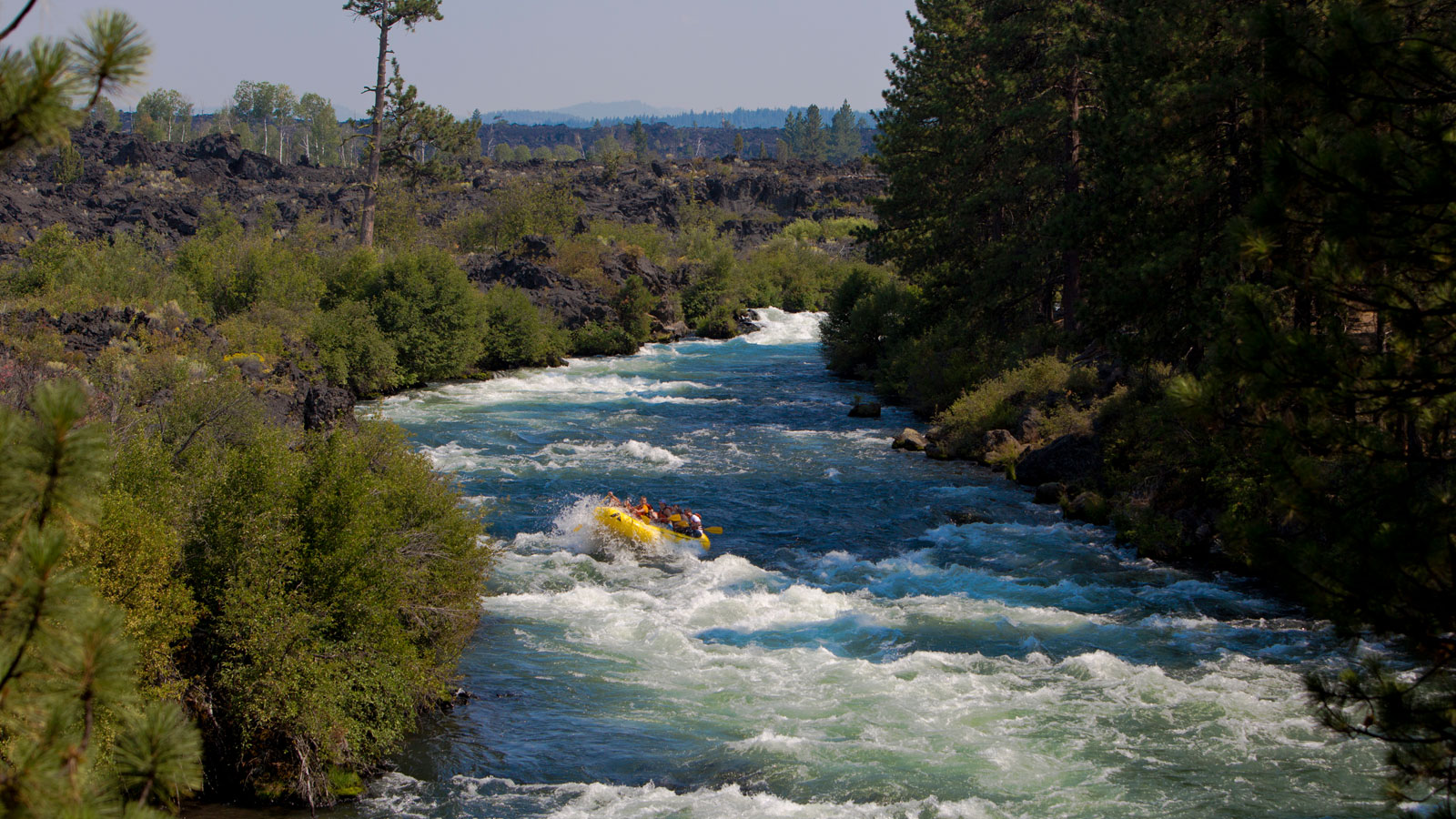 White Water Rafting On The Deschutes River In Bend Oregon
