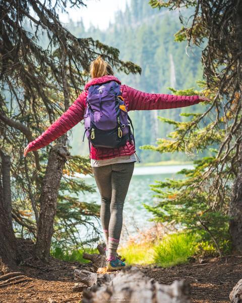 Hiking Deschutes National Forest