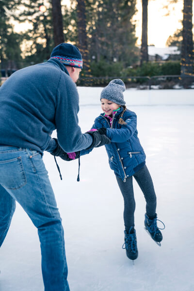 ice skating in Bend