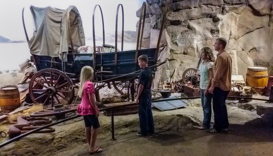 The High Desert Museum Exhibit