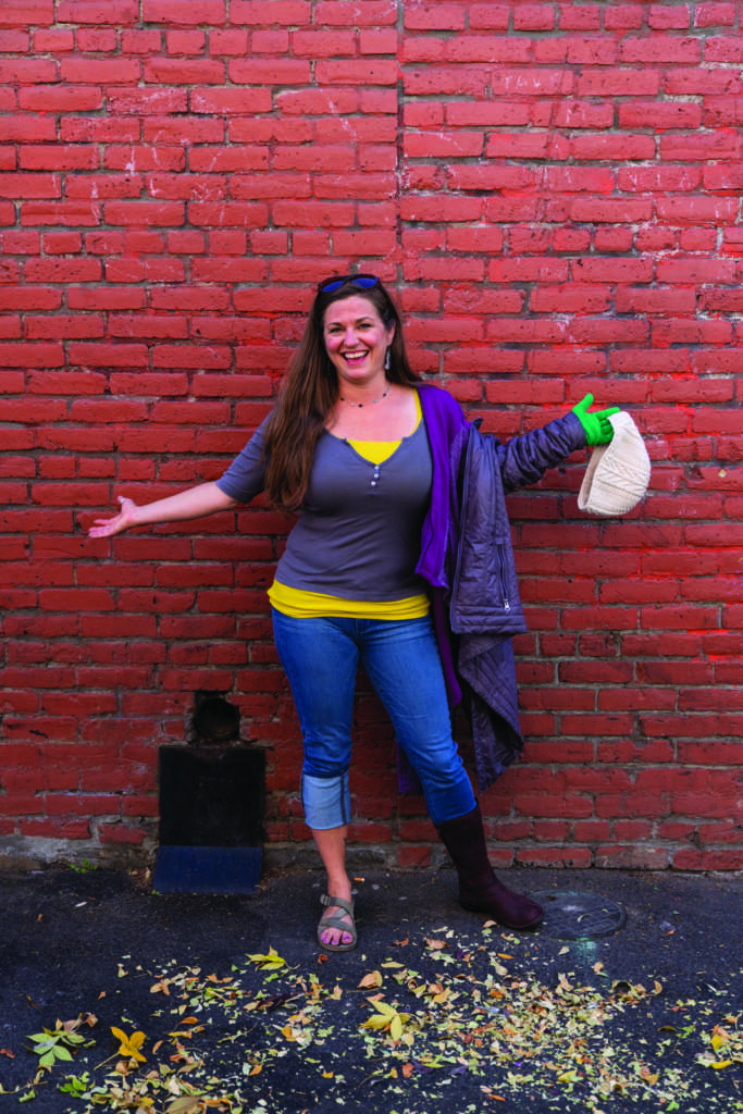 6b6467acae Blogger Tawna demonstrates how to layer up (or down) for shoulder season in  Bend.