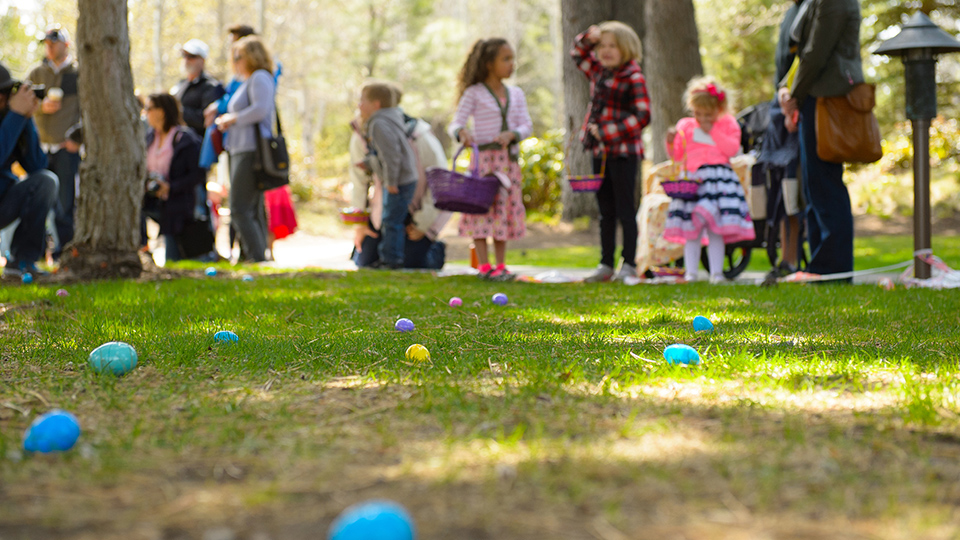 Sunriver Resort Easter Egg Hunt