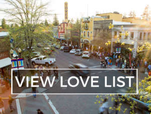 The Perfect Spring Day in Downtown Bend Love List