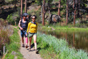 Deschutes River Trail, Bend with a Baby Blog