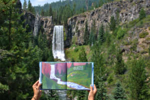 Tumalo Falls, Bend with a Baby Blog