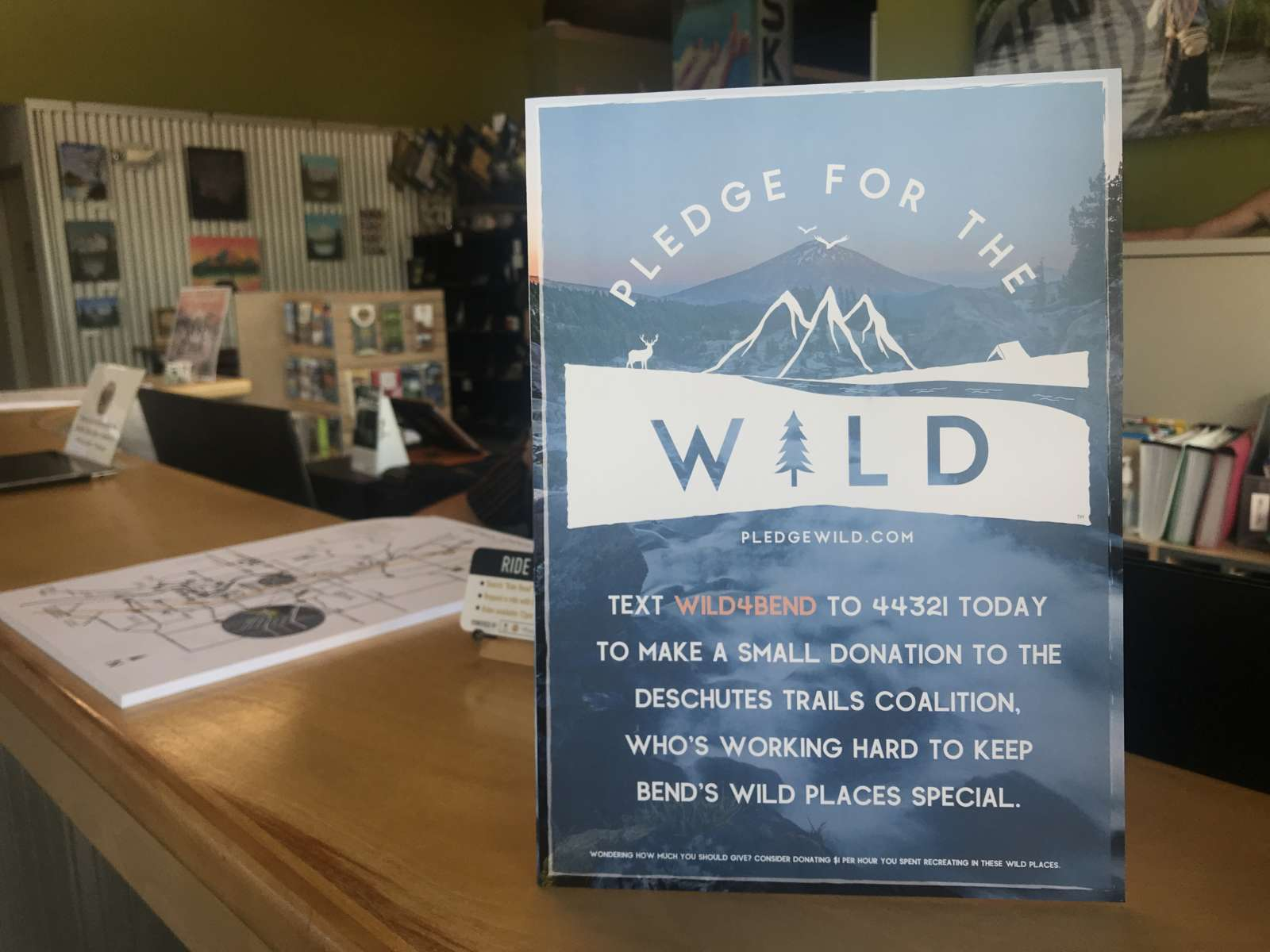 Pledge for the Wild, Bend, OR