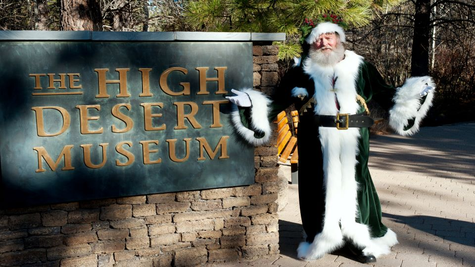 father Christmas high desert museum