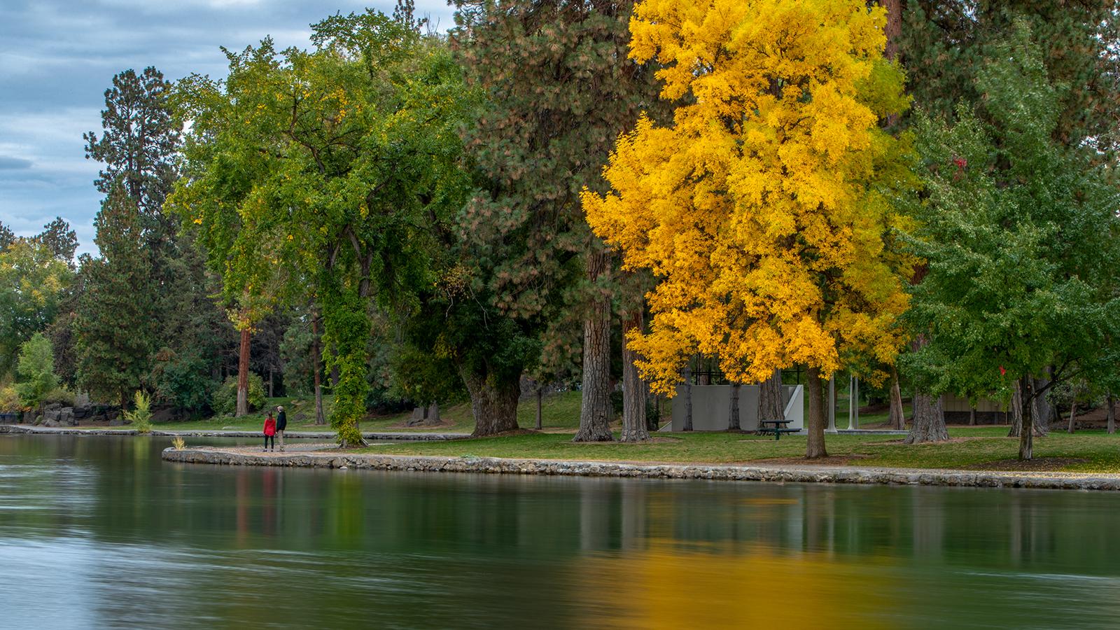 Drake Park in Bend, Oregon