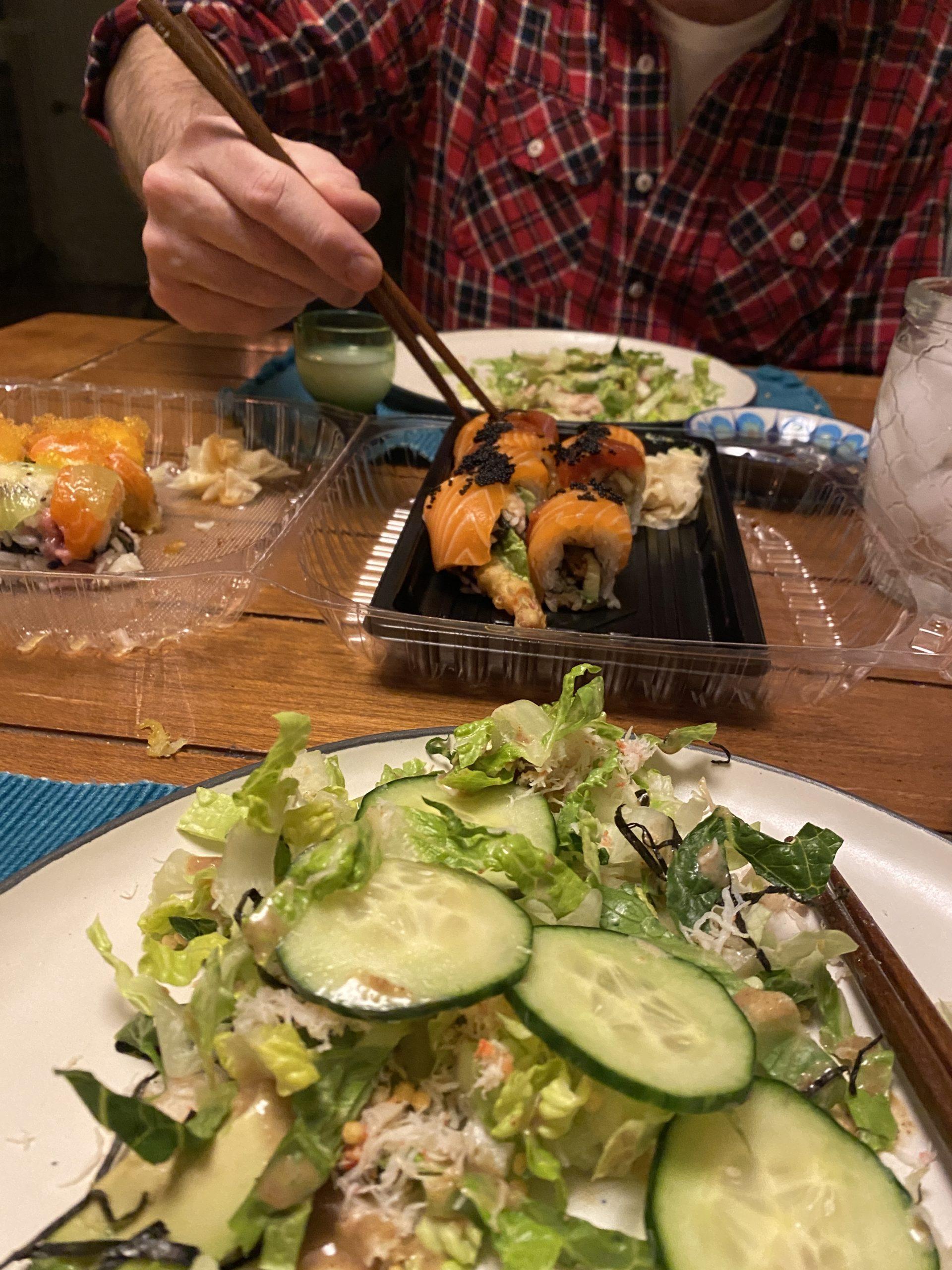 5 Fusion sushi
