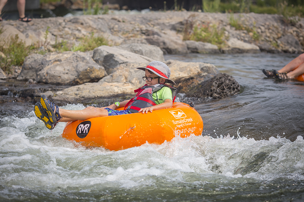 River float rapids