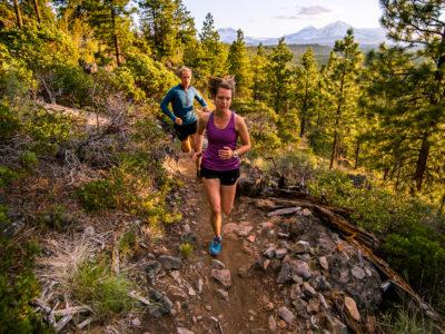 Trail Running Peterson Ridge